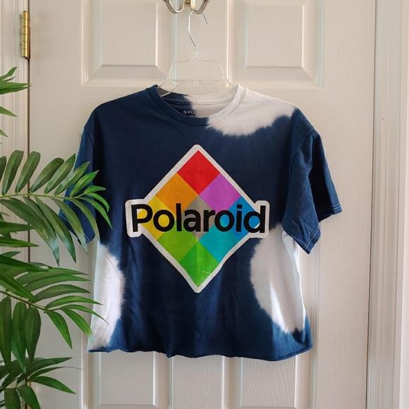 eb8045f5 Urban Outfitters Tops | Polaroid Tie Dye Crop Top | Poshmark